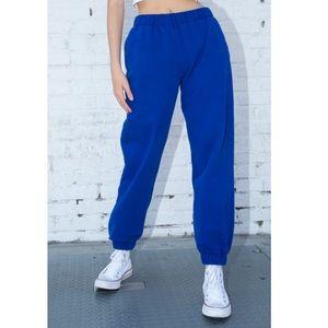 Rosa Sweatpants in Royal blue